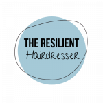 The Resilient Hairdresser Logo